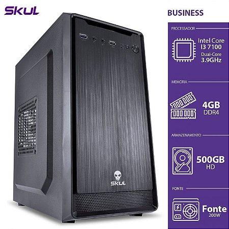 Computador Business B300 I3 7100 3.9GHZ 4GB DDR4 HD 500GB