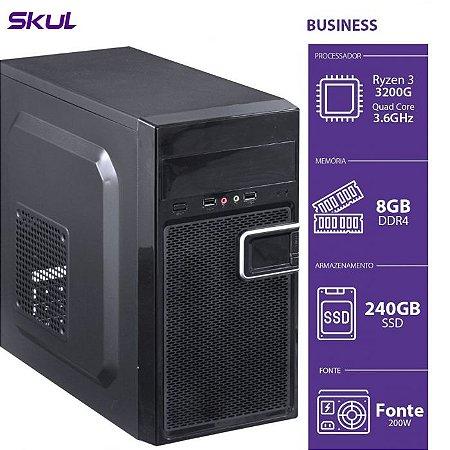 Computador Business B300  R3 3200G 3.6GHZ 8GB DDR4 SSD 240GB
