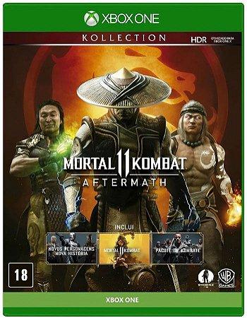 Mortal Kombat 11 Aftermath Xbox One Mídia Física