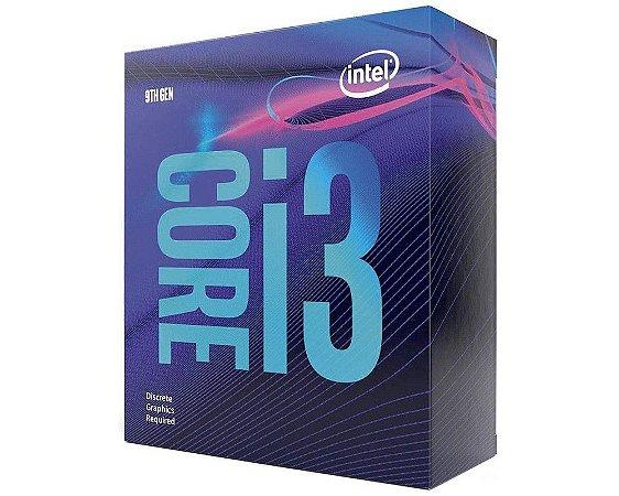 Processador Intel Core i3 9100F 3.60GHz 6MB FCLGA1151