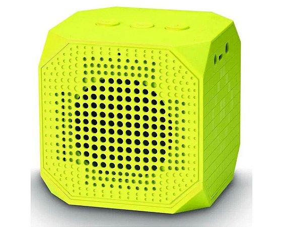 Caixa de Som Easy Mobile Bluetooth Wise Box Amarela