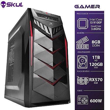 Computador Gamer 3000  I3 9100F 3.6GHZ Mem 8GB DDR4 SSD120GB