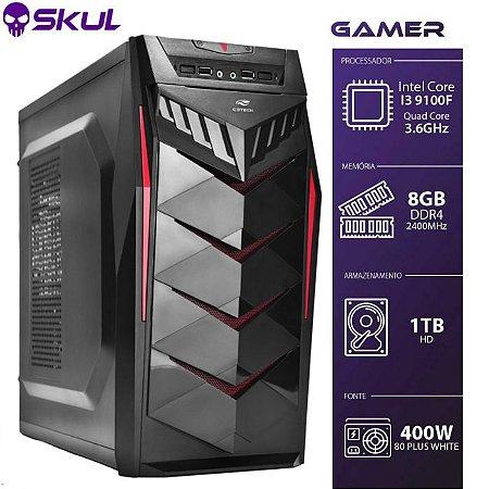 Computador Gamer 3000  I3 9100F 3.6GHZ  Sem Vídeo Integrado
