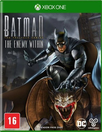 Batman The Enemy Within 2 Temporada Xbox One Mídia Física