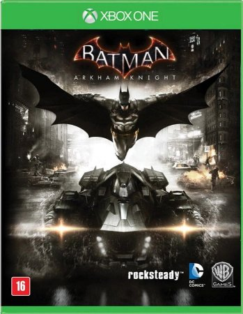 Batman Arkham Knight Br Xbox One Mídia Física