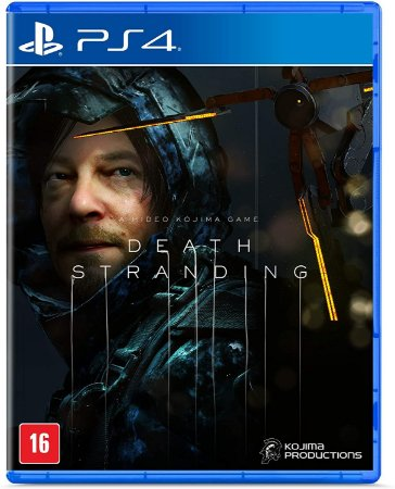 Death Stranding PS4 - Mídia Física