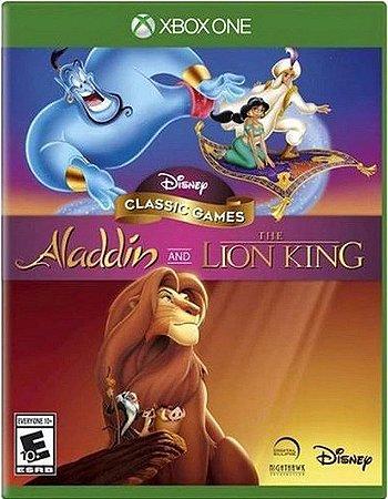 Disney Classics Aladdin e Rei Leão Xbox One Mídia Física