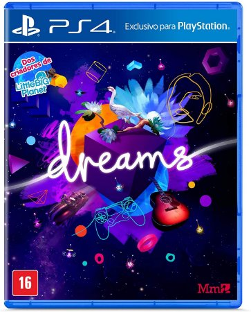 Dreams PS4 - Mídia Física