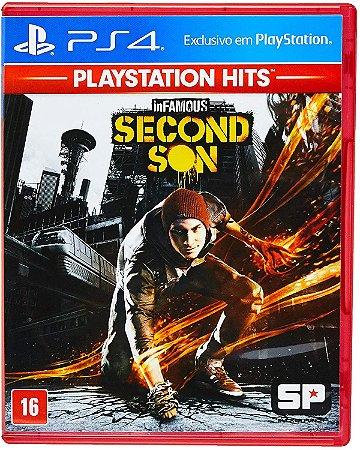 Infamous Second Son Hits PS4 Mídia Física