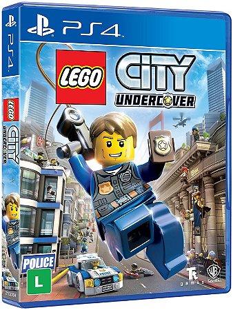 Lego City Undercover PS4 Mídia Física