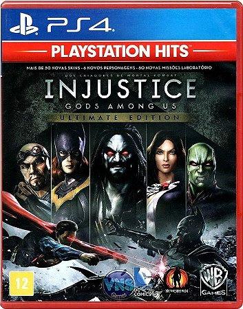 Injustice Goty Hits PS4 Mídia Física
