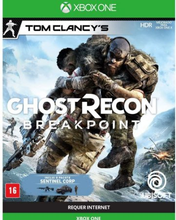 Ghost Recon: Breakpoint Day One Xbox One - Mídia Física