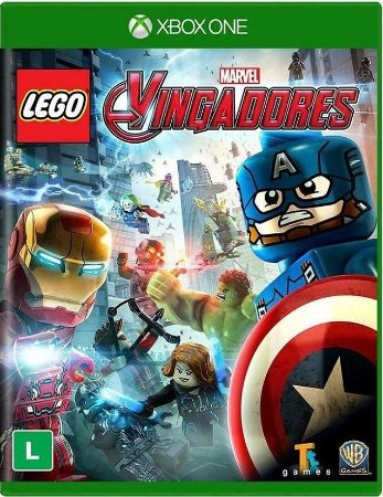 Lego Marvel Vingadores Xbox One Mídia Física