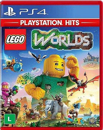 Lego Worlds Hits PS4 - Mídia Física