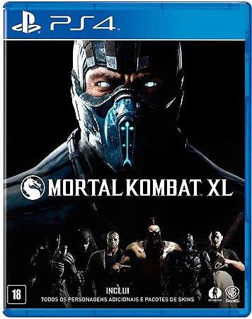 Mortal Kombat XL PS4  Mídia Física