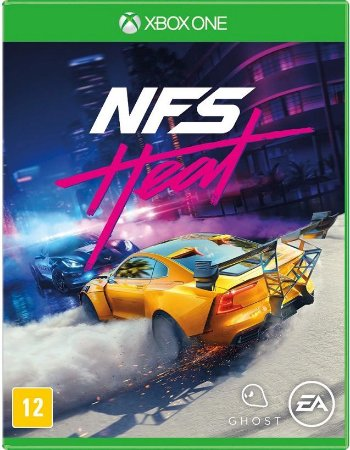 Need For Speed Heat Xbox One Mídia Física