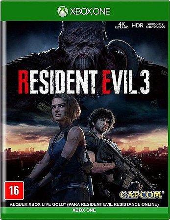 Resident Evil 3 Xbox One Mídia Física