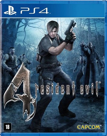 Resident Evil 4 Remastered PS4 Mídia Física