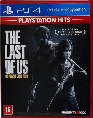 The Last of Us  Hits PS4 - Mídia Física