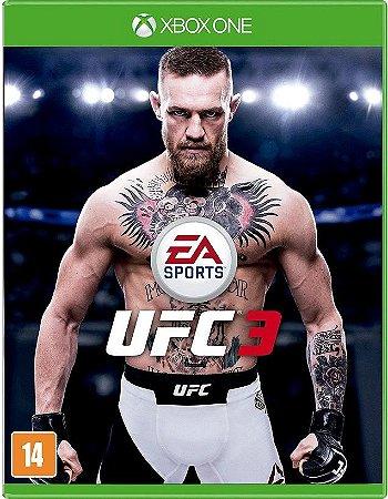 UFC 3 Xbox One - Mídia Física