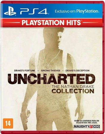 Uncharted Collection Hits PS4 - Mídia Física