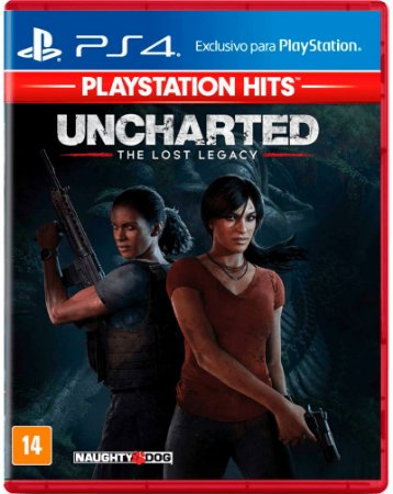 Uncharted The Lost Legacy PS4 Mídia Física