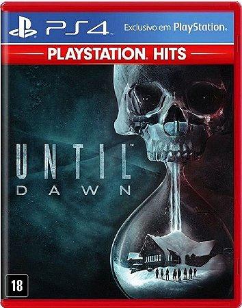 Until Dawn Hits PS4 Mídia Física