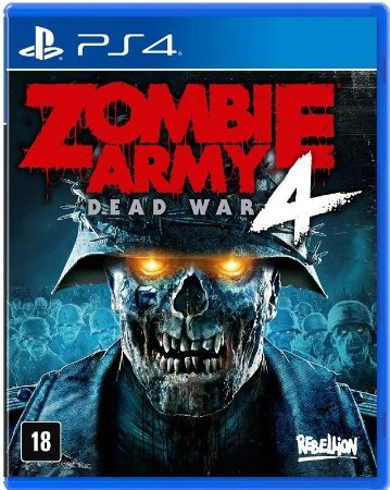 Zombie Army 4 Dead War PS4 Mídia Física