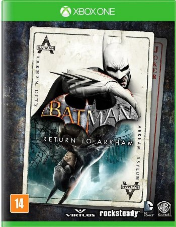 Batman Return to Arkham Xbox One Mídia Física