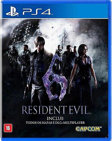 Resident Evil 6 PS4 - Mídia Física