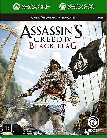Assassin's Creed IV Black Flag  Xbox One Mídia Física