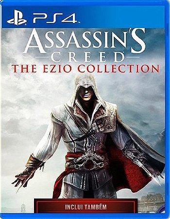 Assassin's Creed Ezio Collection  PS4 - Mídia Física