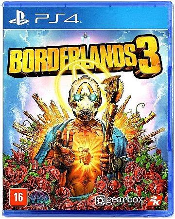 Borderlands 3 PS4 Mídia Física