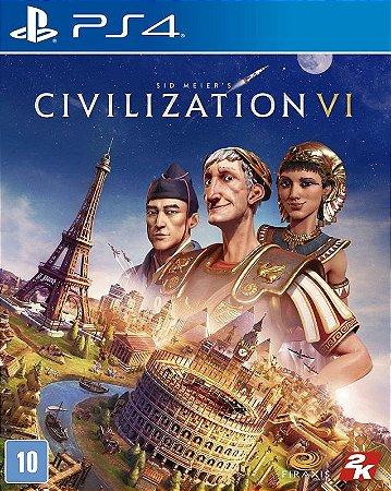 Civilization VI  PS4 Mídia Física