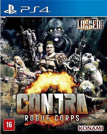 Contra Rogue Corps PS4 Mídia Física