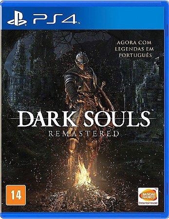 Dark Souls Remastered PS4 - Mídia Física