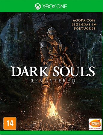 Dark Souls Remastered  Xbox One - Mídia Física
