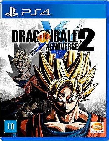 Dragon Ball Xenoverse 2 ED Padrao PS4 Mídia Física
