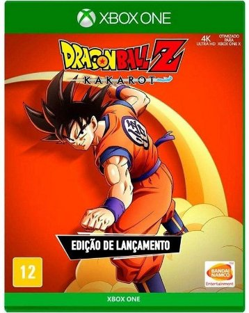 Dragon Ball Z Kakarot Xbox One Mídia física
