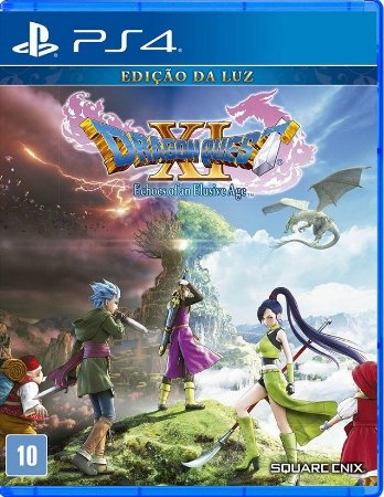 Dragon Quest XI Echoes Of An Elusive Age  PS4 - Mídia Física