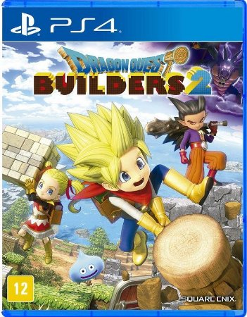 Dragon Quest Builders 2  PS4 Mídia Física