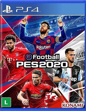 Efootball Pro Evolution Soccer PES 2020  PS4 Mídia Física