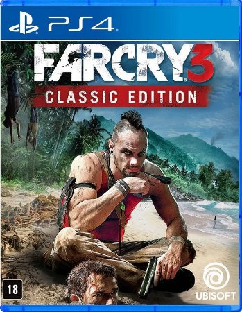 Far Cry 3 Classic Edition PS4 Mídia Física