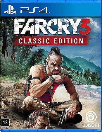 Far Cry 3 Classic Edition PS4 - Mídia Física