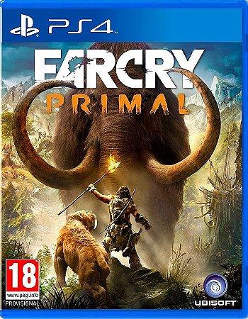 Far Cry Primal  PS4 Mídia Física
