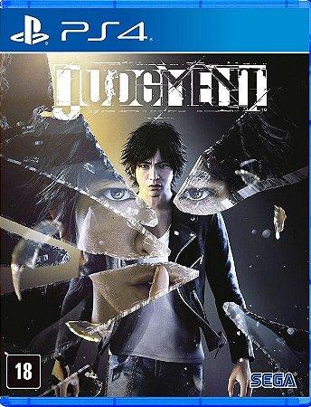 Judgment  PS4 - Mídia Física