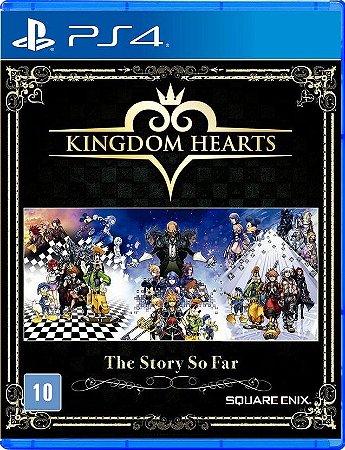 Kingdom Hearts The Story So Far  PS4  Mídia Física