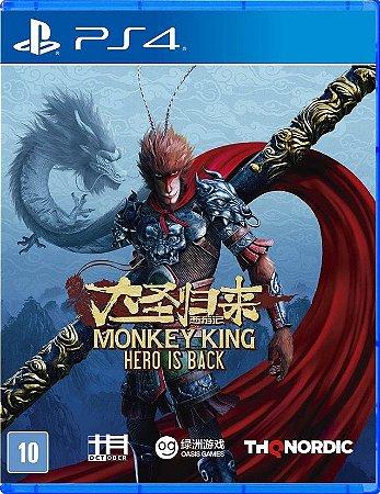 Monkey King Hero Is Back  PS4 Mídia Física