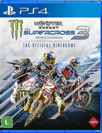 Monster Energy Supercross 3  PS4 Mídia Física