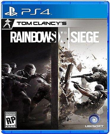 Tom Clancys Rainbow Six Siege PS4 Mídia Física